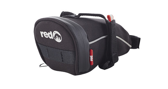 Red Cycling Products Turtle Bag L satulalaukku, musta